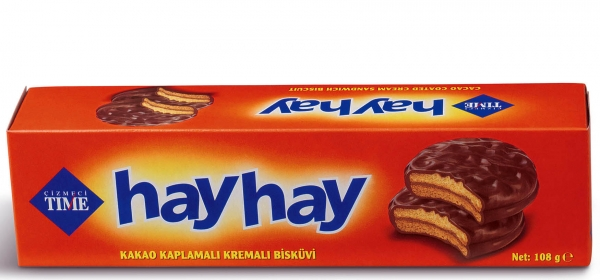 Бисквити Хай Хай 108 гр Шоколад