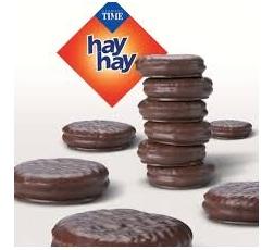 Бисквити Хай Хай 12 гр х 24 бр Карамел