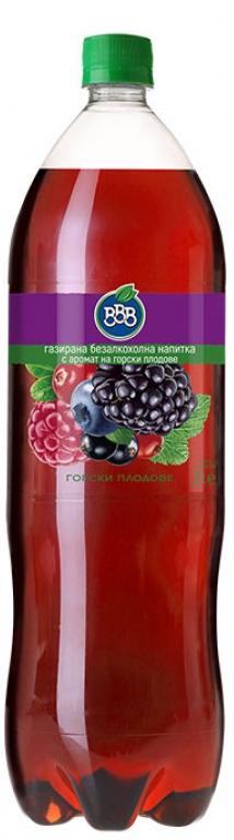 Газирана Напитка ВВВ Горски Плодове 2 л