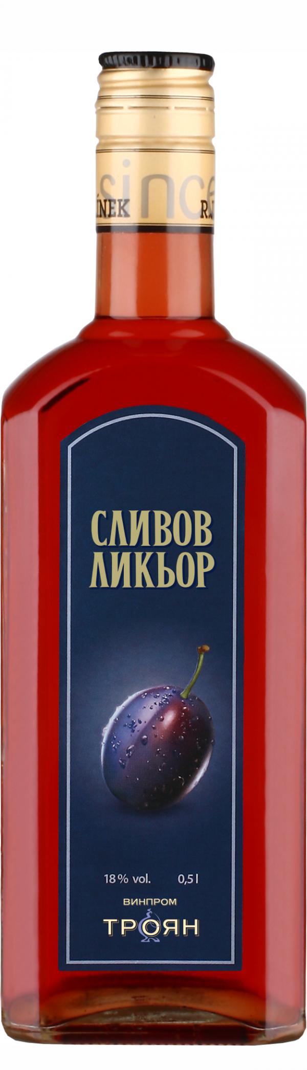 Сливов Ликьор 18% 0.5 л