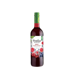 Червено Плодово Вино Фрутино Мерло с Боровинка и Малина 0.375 л