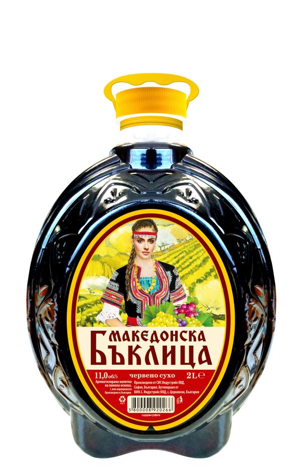 Македонска Бъклица Червено 2 л
