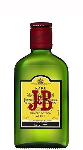 Уиски Джей енд Би 0.350 л