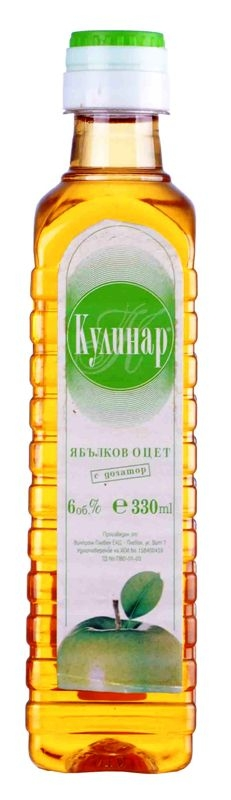 Ябълков Оцет Кулинар 0.330 л