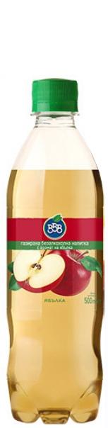 Газирана Напитка ВВВ Ябълка 0.5 л