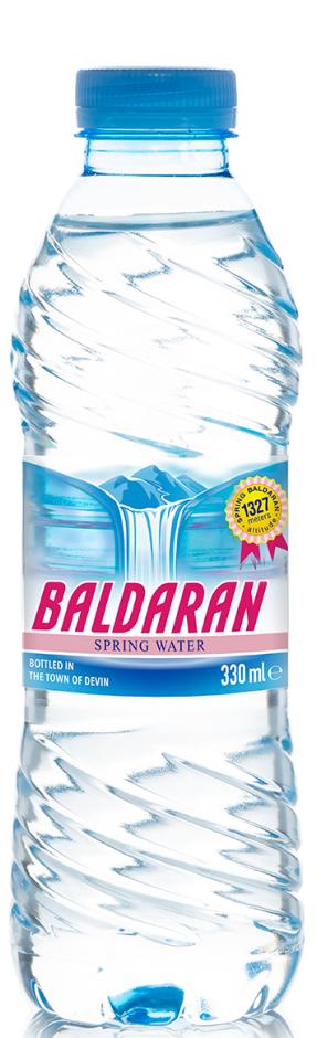 Изворна Вода Балдаран 0.330 л, 12 бр в Стек