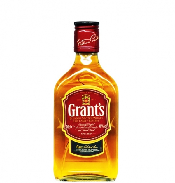 Уиски Грантс Фемили Ризърв 0.2 л