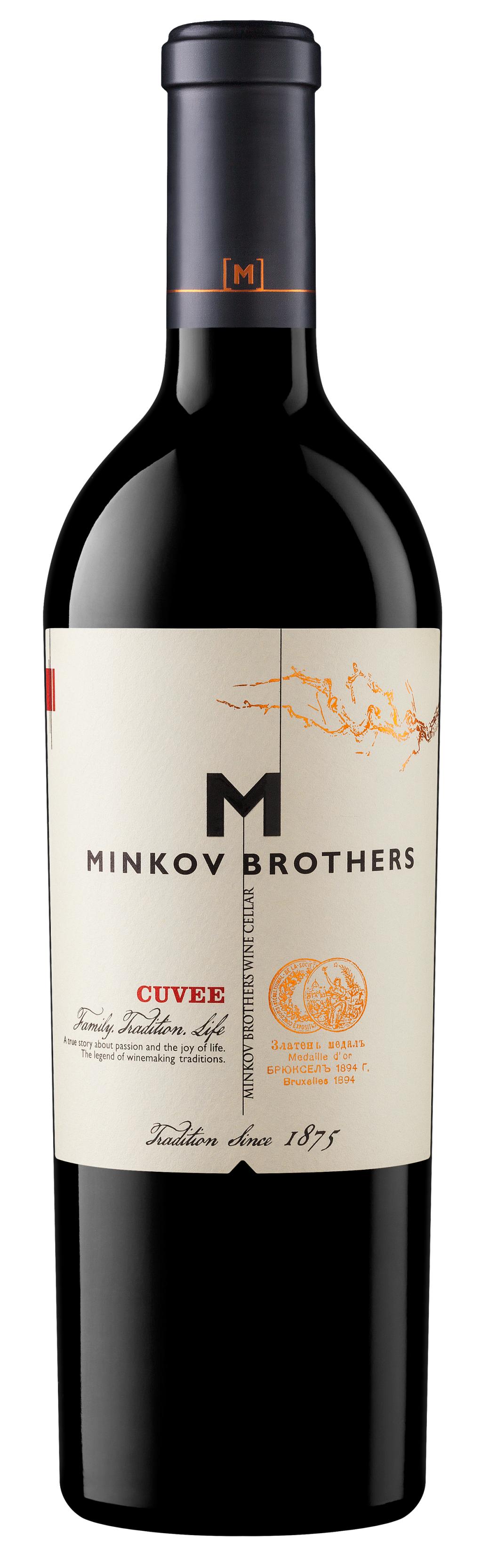 Червено Вино Братя Минкови Кюве 0.75 л