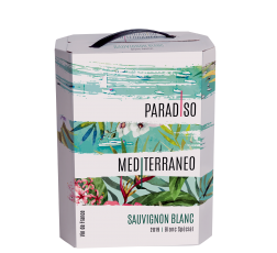 Парадисо Медитеранео Совиньон Блан 3 л