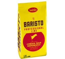 Кафе Баристо Крема Бар 1 кг Жълт