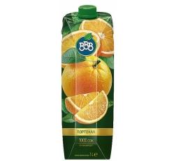 Натурален Сок ВВВ Портокал 100% 1 л