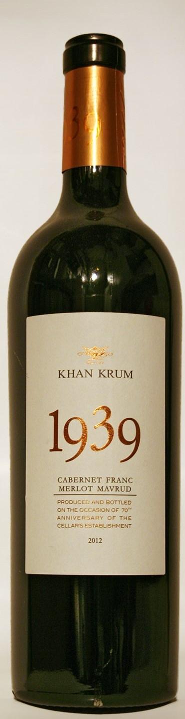 Червено Вино Хан Крум 1939 0.75 л