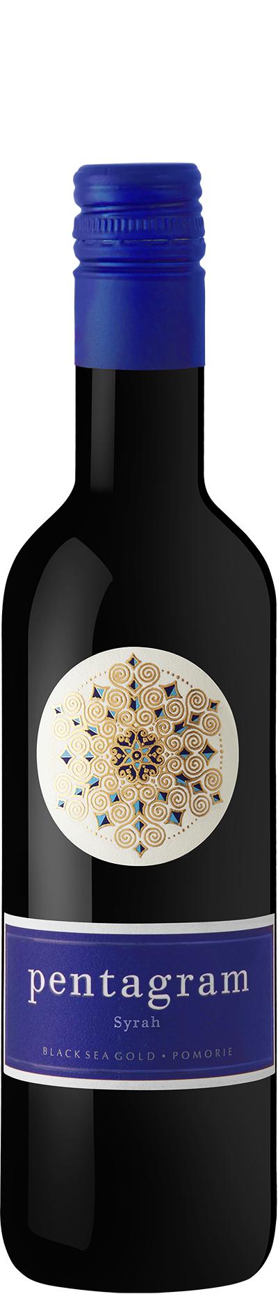 Червено Вино Пентаграм Сира Поморие 0.375 л