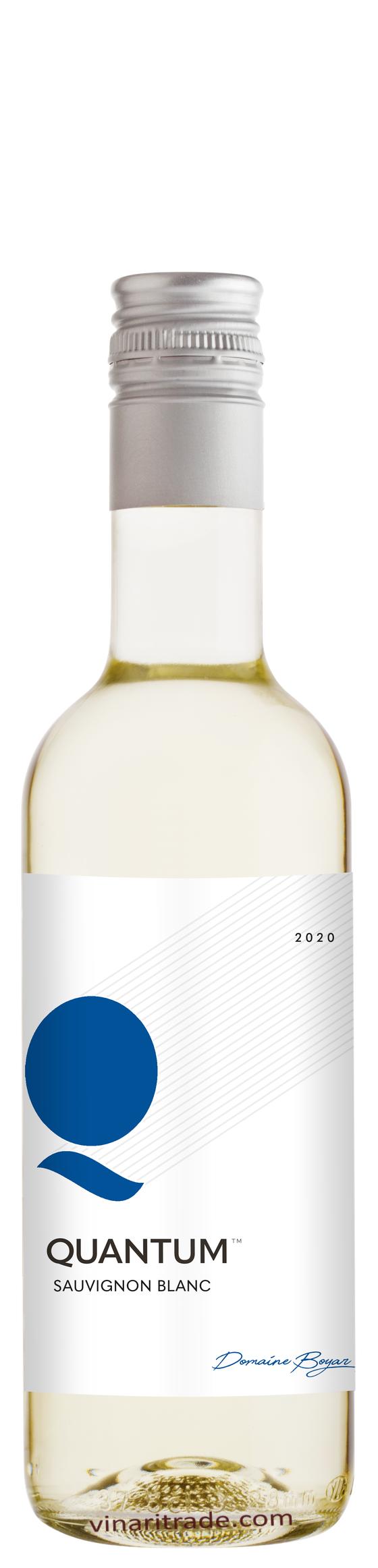 Бяло Вино Квантум Совиньон Блан 0.250 л