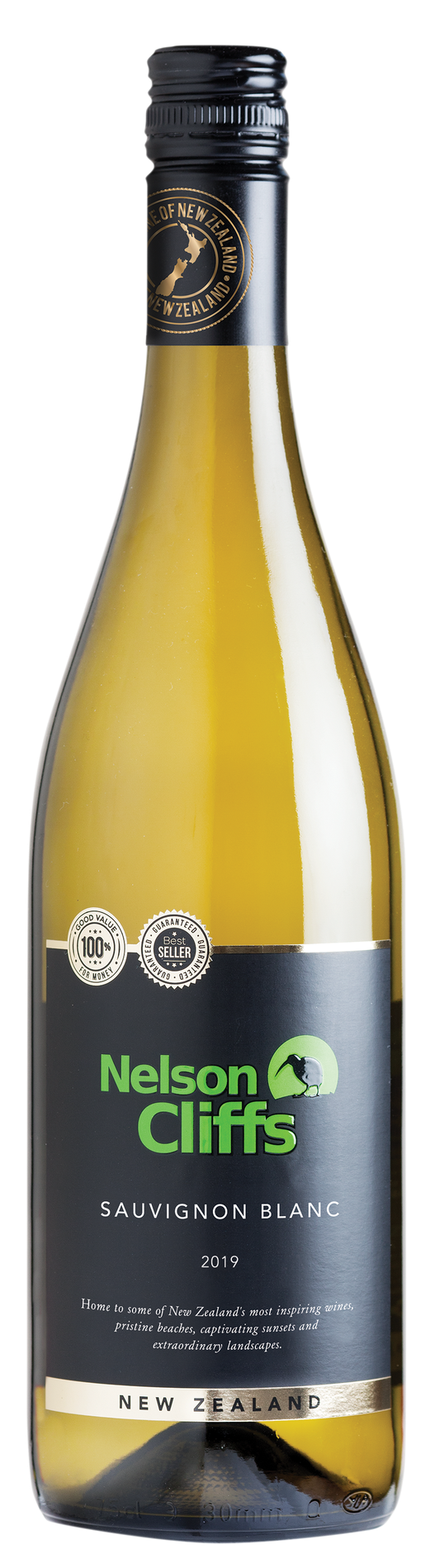Бяло Вино Нелсън Клифс Совиньон Блан 0.75 л