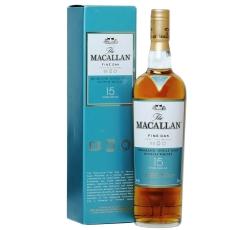 Уиски Макалън 15 годишен Файн Оук 0.7 л