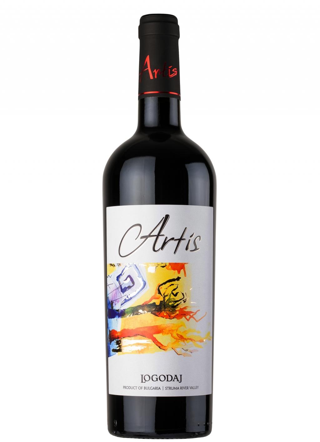 Червено Вино Логодаж Артис 0.75 л