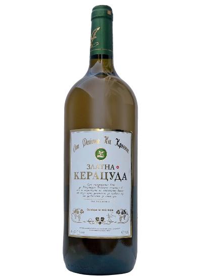 Бяло Вино Златна Керацуда Кресна 1.5 л
