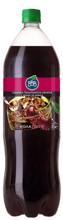 Газирана Напитка ВВВ Кола Чери 2 л