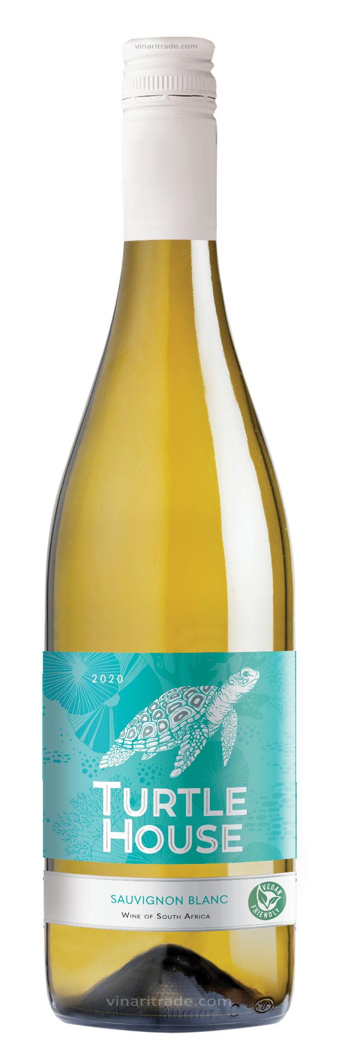 Бяло Вино Търтъл Хаус Совиньон Блан 0.75 л