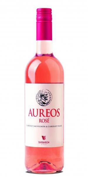 Вино Ауреус Розе Свищов 0.75 л