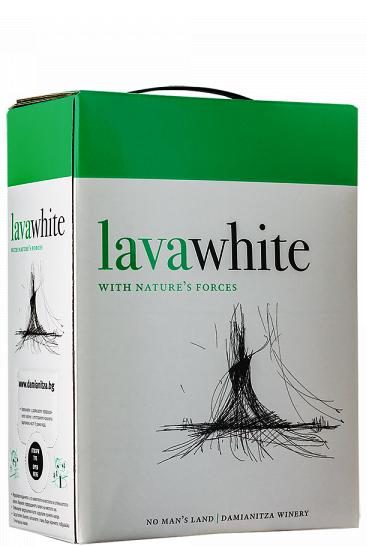 Бяло Вино Лава Ничия Земя 3 л