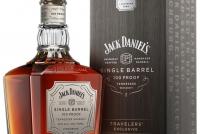 Уиски Джак Даниелс Сингъл Барел 100 Proof 0.7 л с Кутия