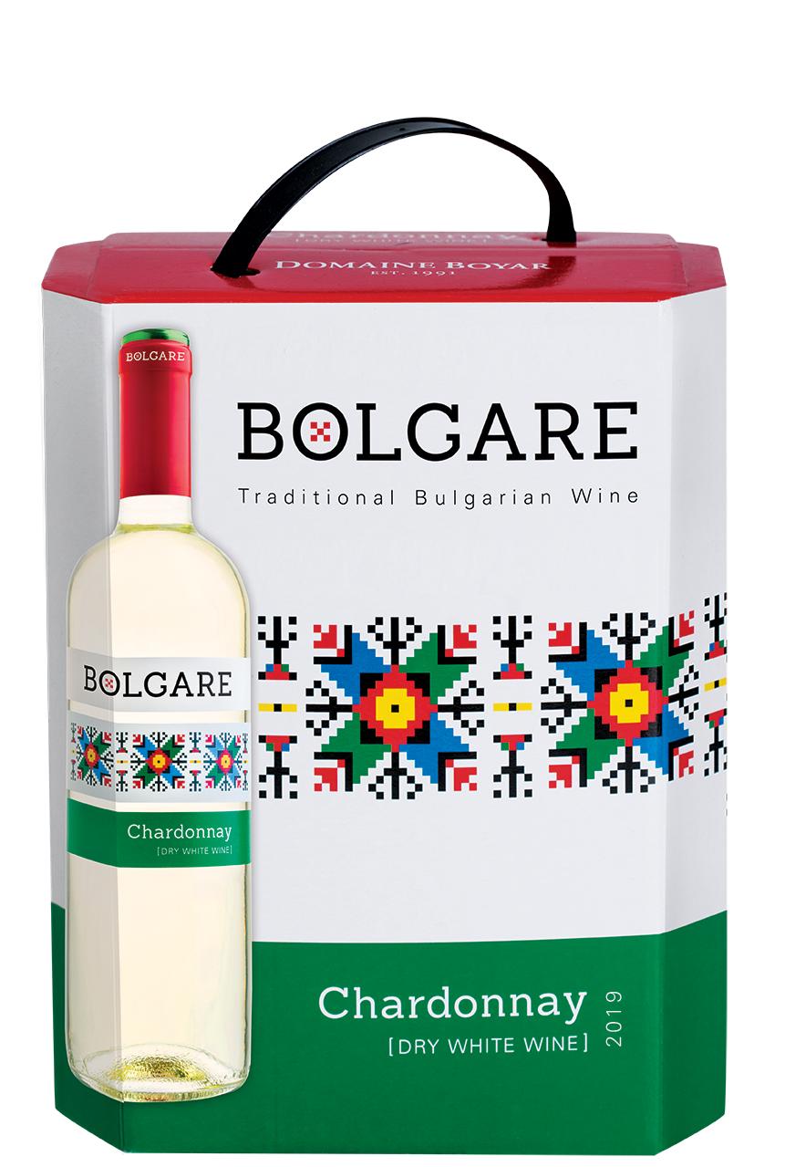 Бяло Вино Болгаре Шардоне 3 л