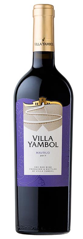 Червено Вино Вила Ямбол Мавруд 0.75 л