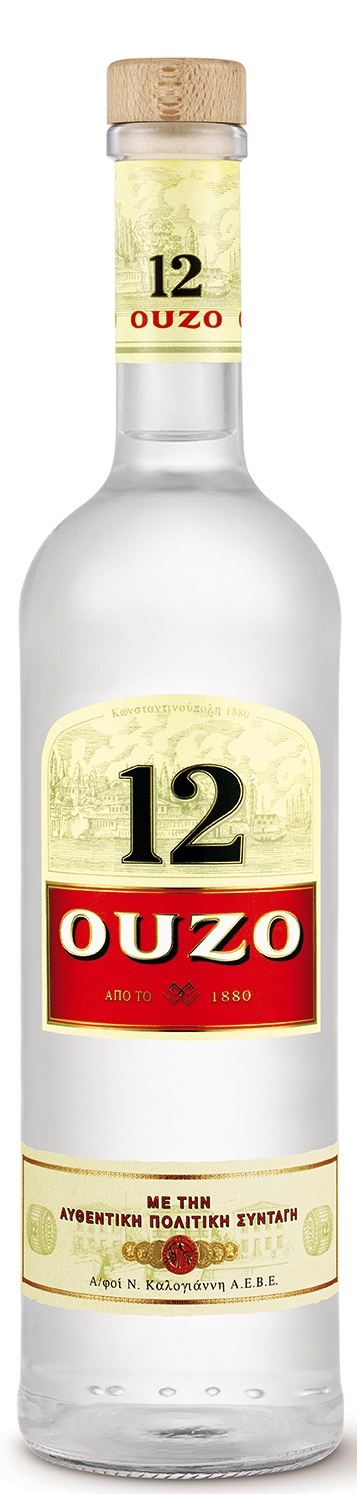 Узо 12 0.7 л с Чаша
