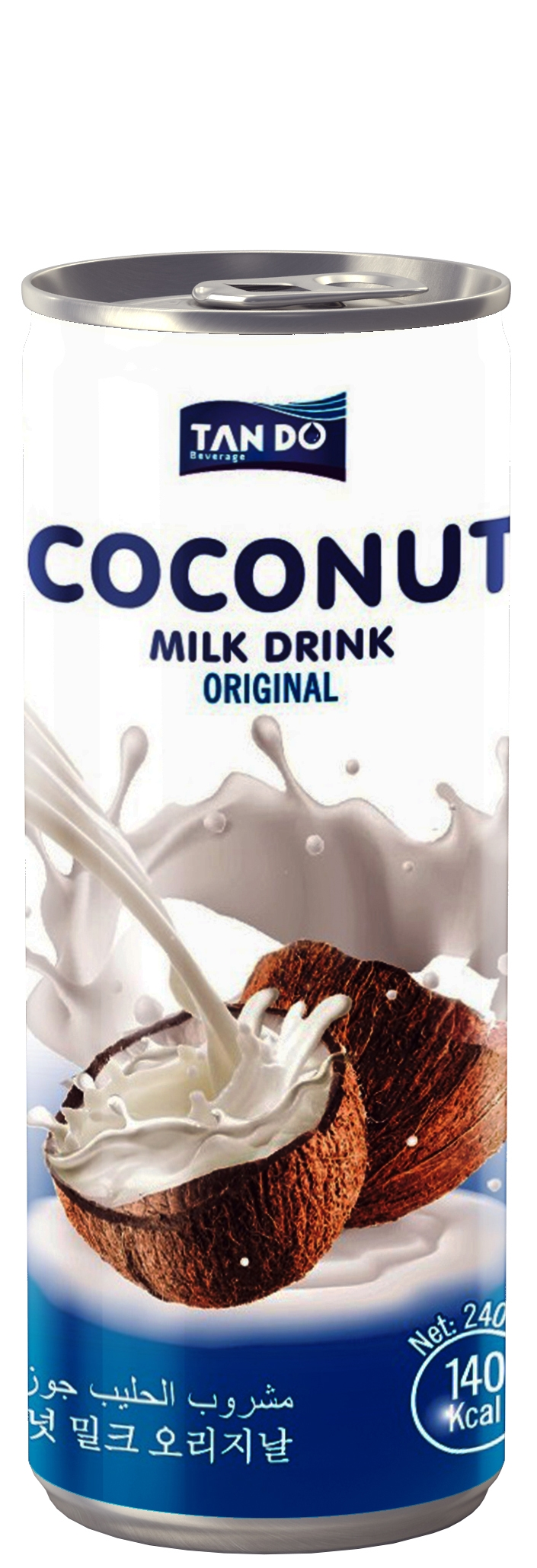 Кокосово Мляко 0.240 л Кен