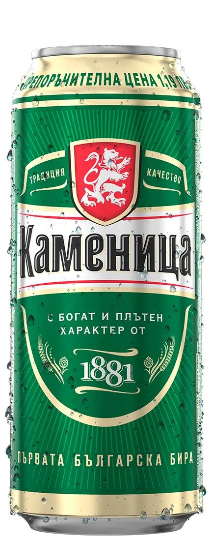 Бира Каменица 0.5 л Кен