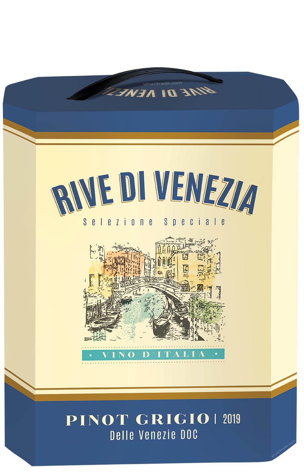 Бяло Вино Риве Ди Венеция Пино Гриджо 3 л