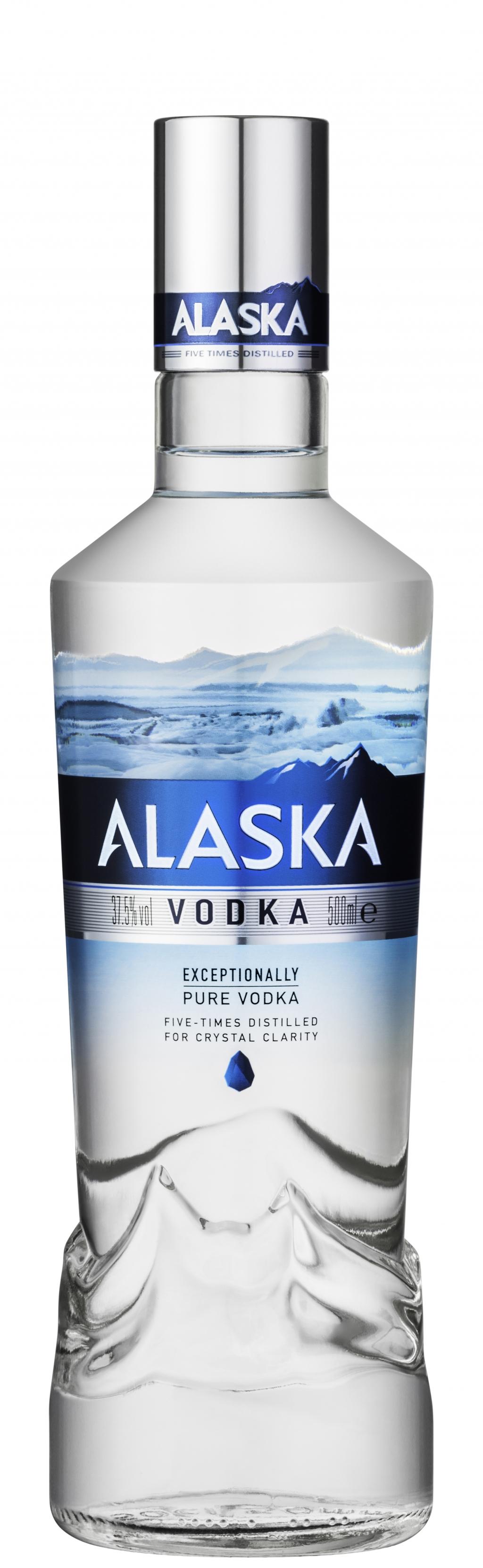 Водка Аляска 0.7 л