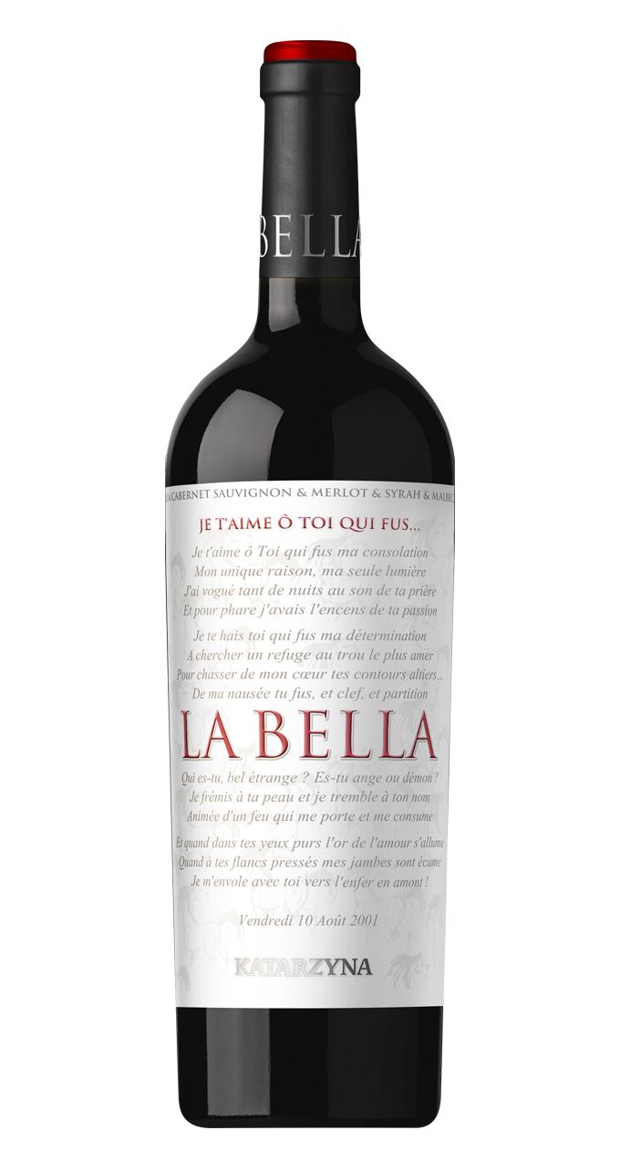 Червено Вино Ла Белла Катаржина 0.75 л