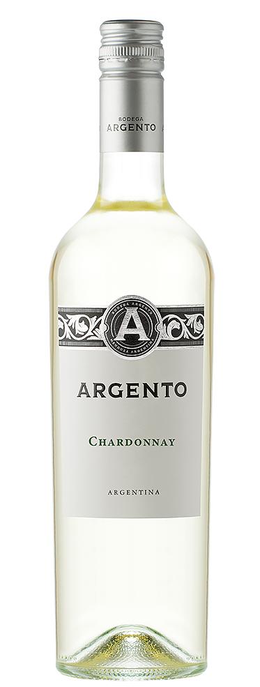 Бяло Вино Шардоне Ардженто, Мендоса 0.75 л