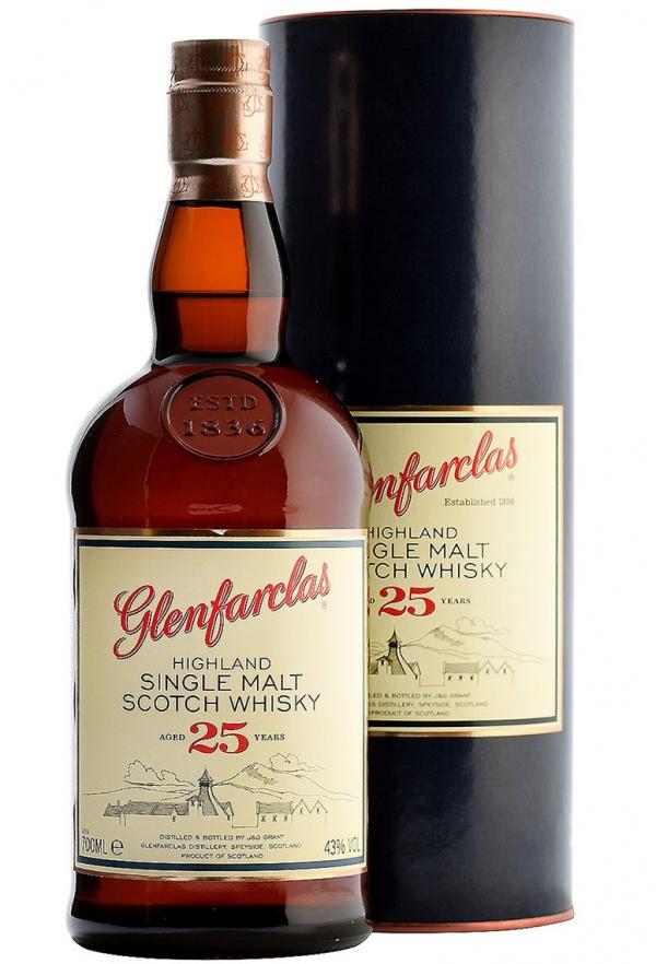 Уиски Гленфарклас 25 годишно 0.7 л