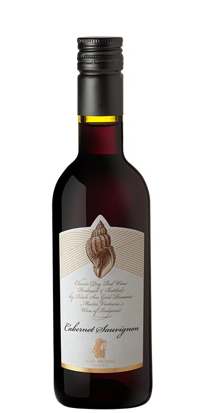 Червено Вино Раковина Каберне Совиньон Поморие 0.250 л