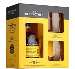 Уиски Гленротс 10 годишен 0.7 л с 2 Чаши