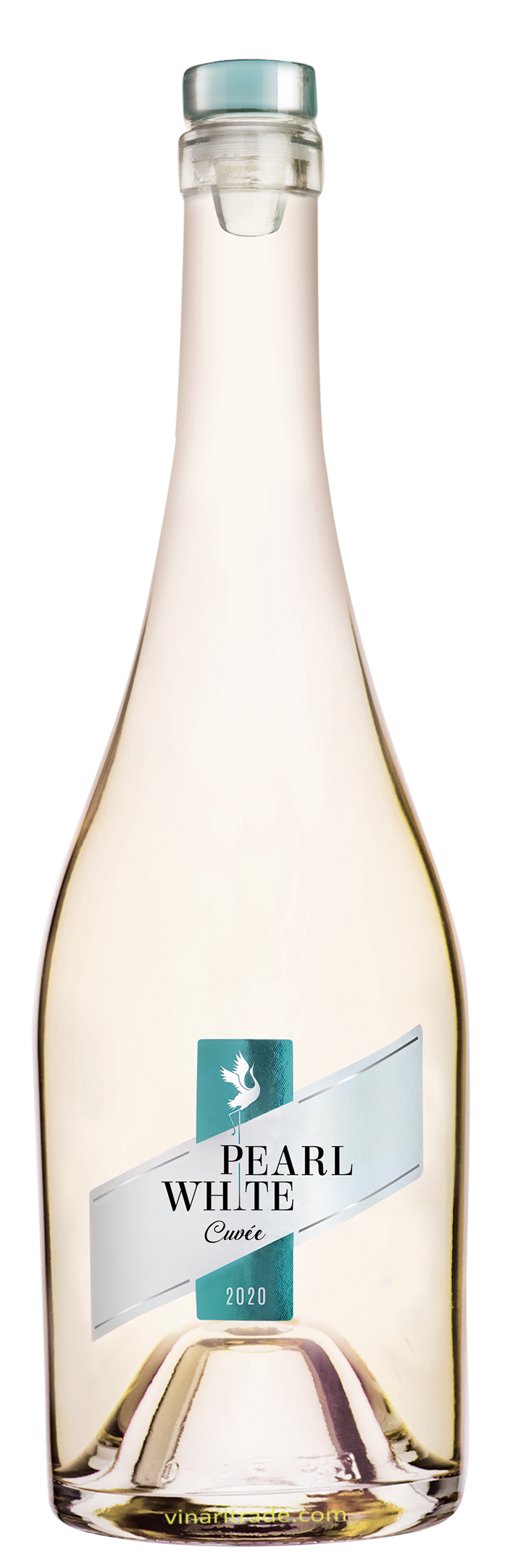 Бяло Вино Пърл Уайт Кюве 0.75 л