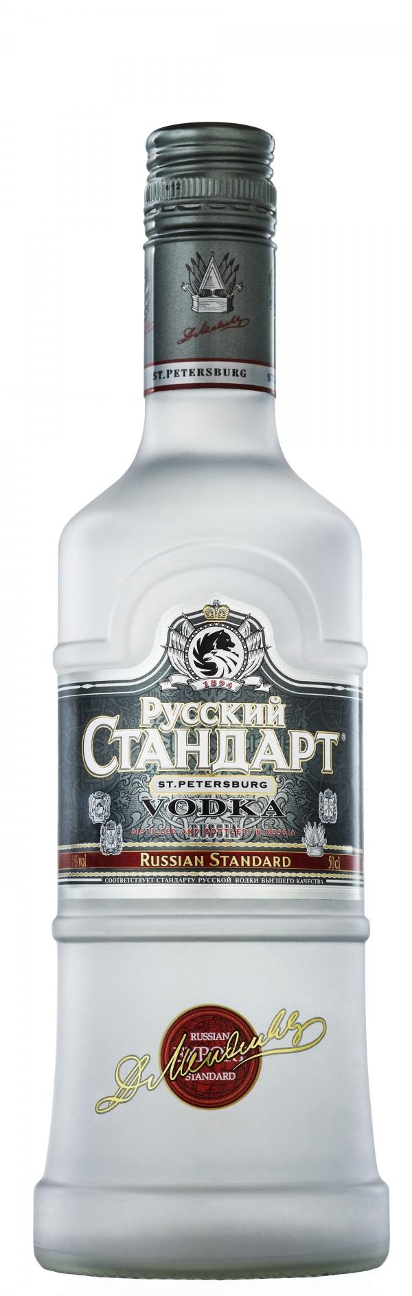 Водка Руски Стандарт 0.5 л
