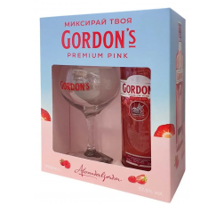 Джин Гордънс Пинк 0.7 л с Чаша