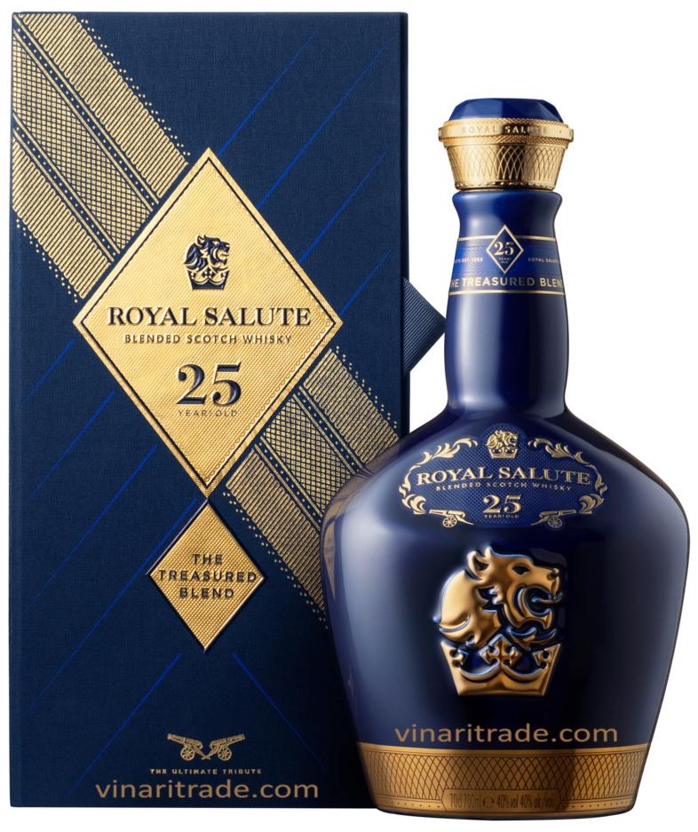 Уиски Роял Салют 25 годишен 0.7 л