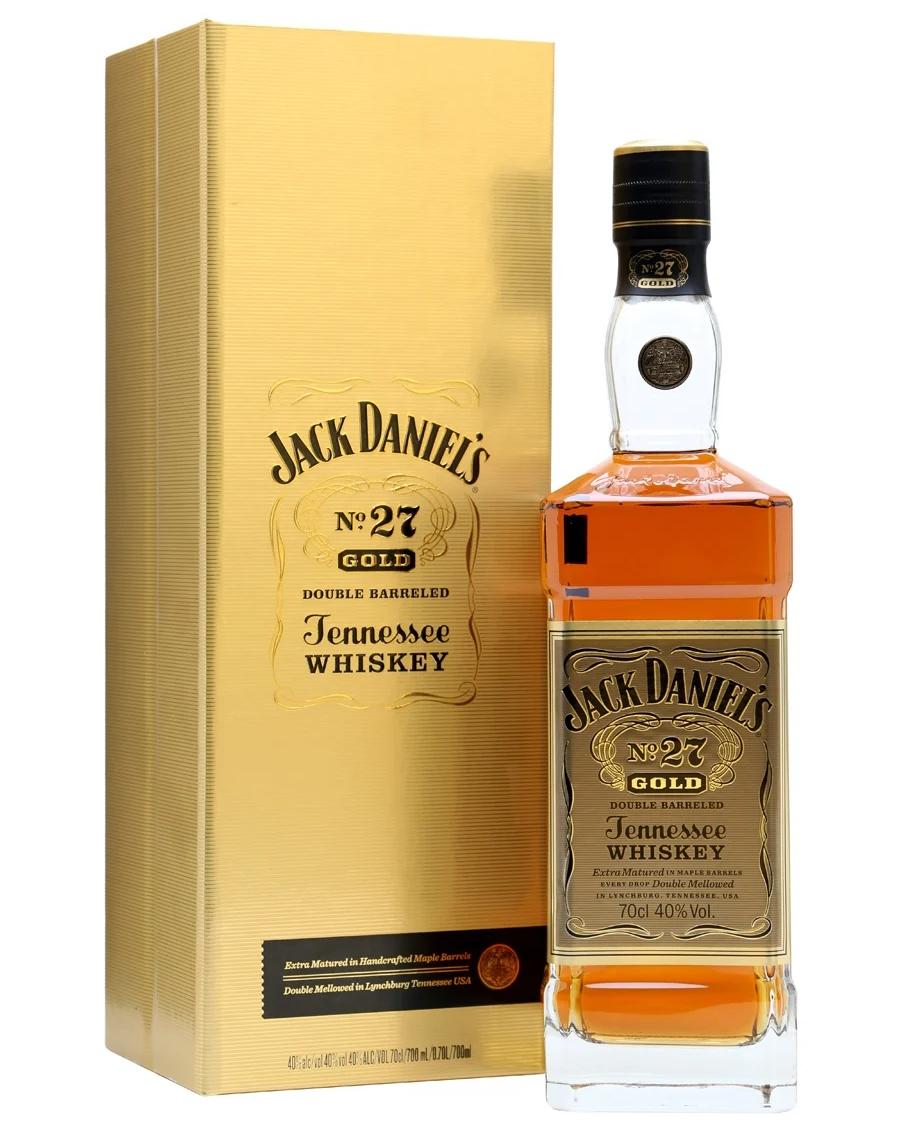 Уиски Джак Даниелс Голд №27 0. 7 л