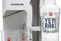 Турска Ракия Йени Ракъ 0.7 л с 2 Чаши