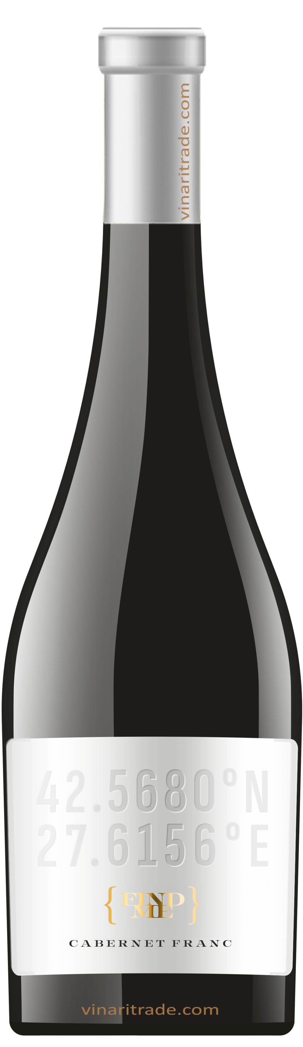 Червено Вино Find Me Каберне Фран Поморие 0.75 л