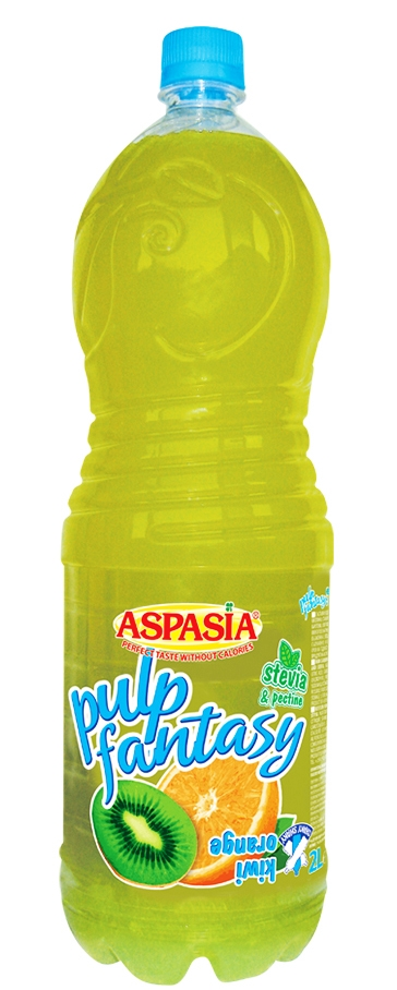 Сок Аспазия Пълп Киви и Портокал 2 л