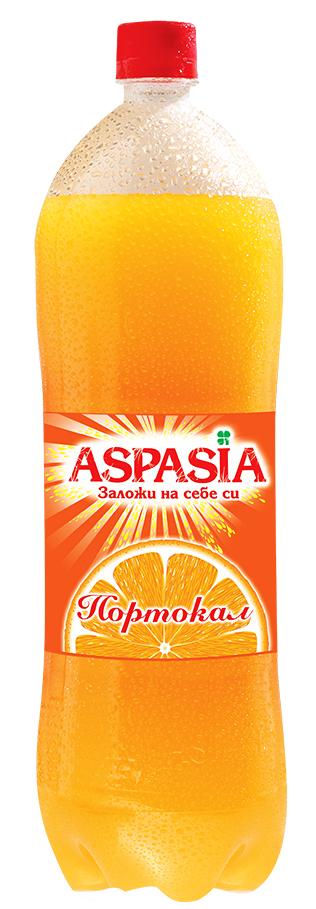 Газирана Безалкохолна Напитка Аспазия Портокал 2 л