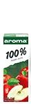 Арома Сок 100% Ябълка 0.200 л със Сламка