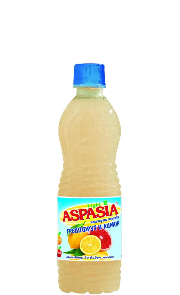 Аспасия Сок Грейпфрут и Лимон 0.5 л